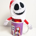 Jack Skellington In Santa Suit