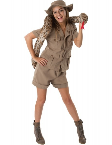 Safari Explorer Costume & Sc 1 St Fancy Me Limited