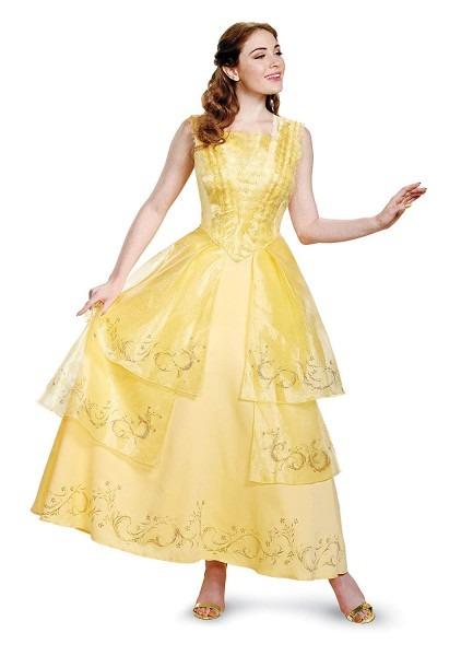 Amazon Com  Disney Women's Plus Size Belle Ball Gown Prestige