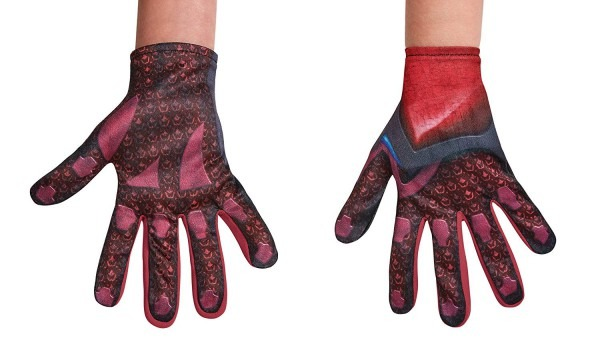 Amazon Com  Disguise Red Power Rangers Movie Child Gloves, One