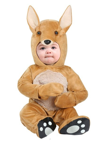 Amazon Com  Infant Baby Kangaroo Costume 0 3 Months Brown  Clothing