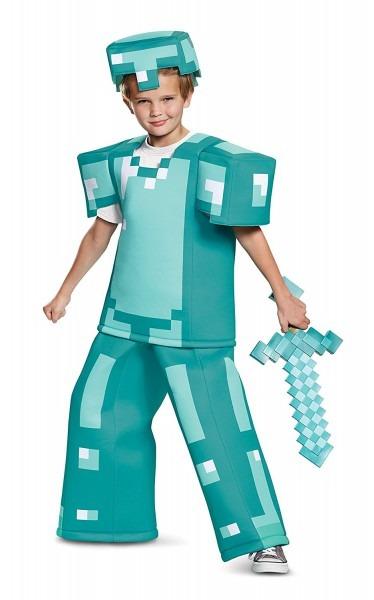 Amazon Com  Armor Prestige Minecraft Costume, Multicolor, Medium