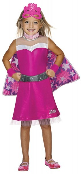 Amazon Com  Barbie Princess Power Super Sparkle Costume, Child's