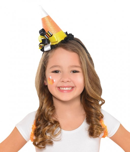 Headband Candy Corn Fairy Hat