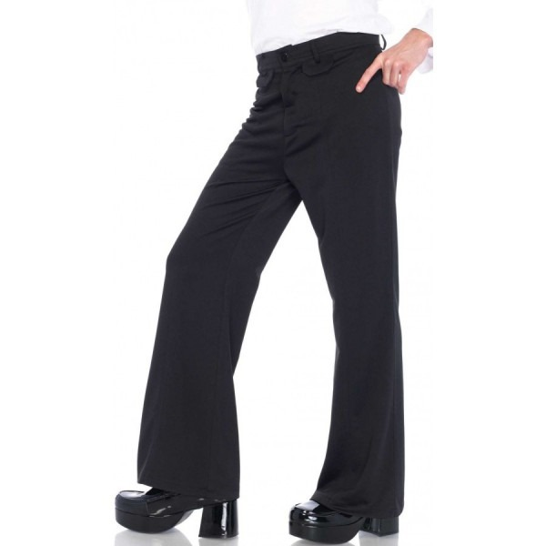 Mens Bell Bottom Disco Pants