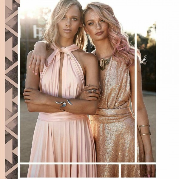 Gorgeous Goddess Dresses  Available At Just Bridesmaids And