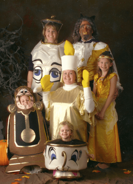 When I Was Younger, My Family And I Would Have Themed Halloween