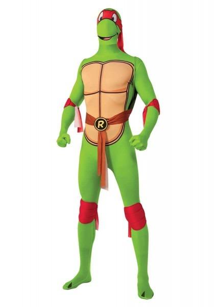 Ninja Turtle Raphael Costume, Second Skin