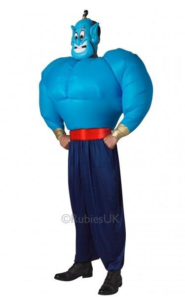 Disney Genie Adults Fancy Dress Aladdin Cartoon Movie Book Arabian