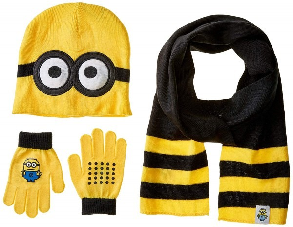 Amazon Com  Despicable Me Boys' Little Pop Up Minions Beanie Glove