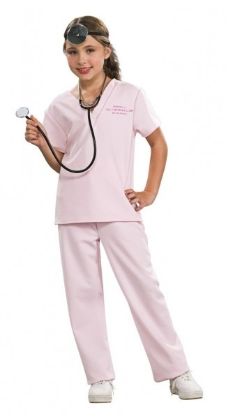 Veterinarian Shirt, Pants  Head Piece And Stethescope Not Included