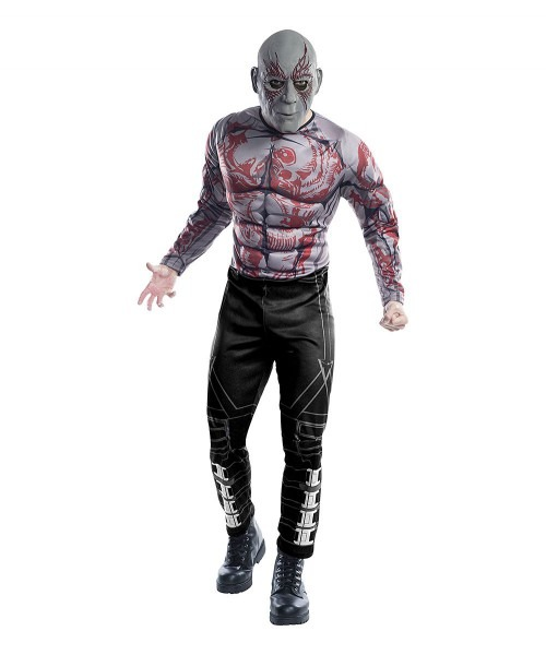 Deluxe Drax The Destroyer Costume Set