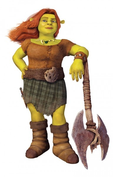 Warrior Fiona From Shrek Forever After