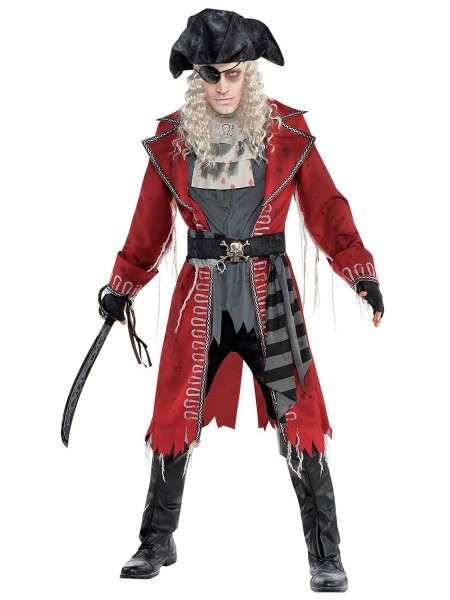 Adult Zombie Pirate Costume