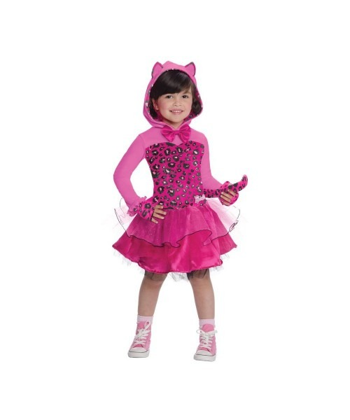 Barbie Kitty Girls Costume Toddler Barbie Pink Cat Costume