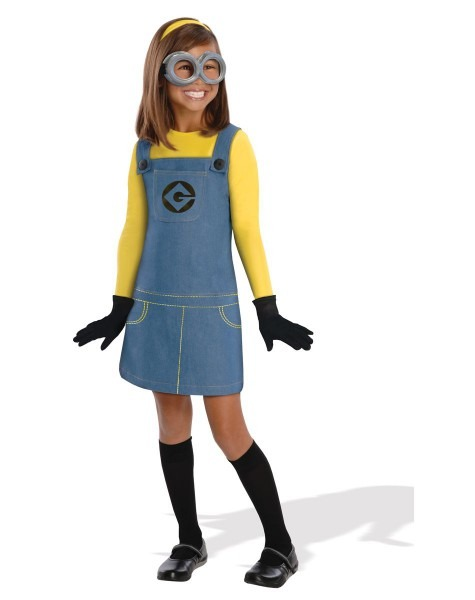 Despicable Me 2 Minion Girl's Costume At Spirit Halloween