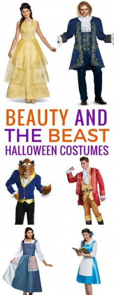 Halloween Beauty And The Beast Costumes For The Whole Family