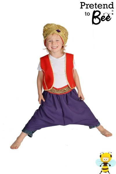Boys Arabian Prince Costume For Childrens Fancy Dress