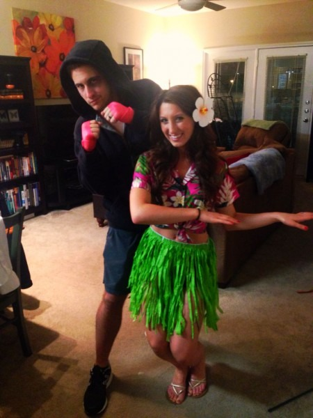 First Halloween Together (married) Hawaiian Punch  Halloween