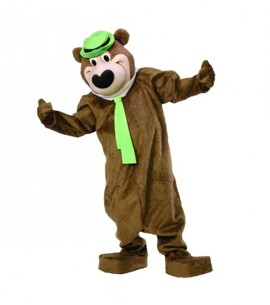 Yogi Bear Licensed Mascot