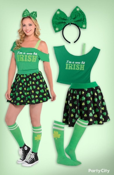 Add Some Sparkle To Your St  Patrick's Day With This Cute Outfit