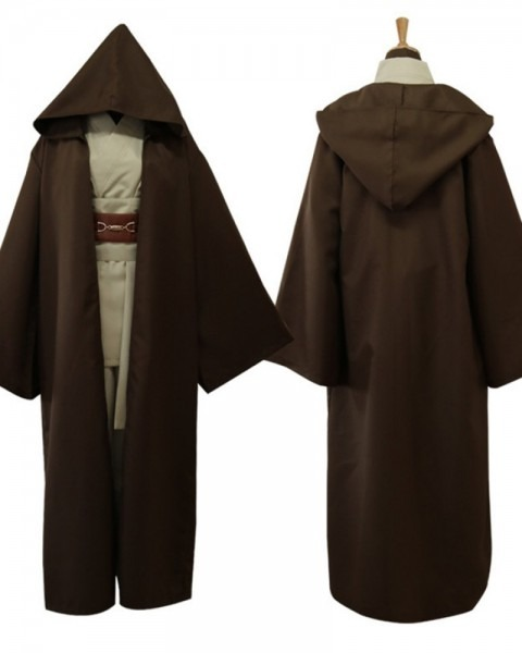 Shop Star Wars Movie Cosplay Jedi Knight Robe Costume For Men From