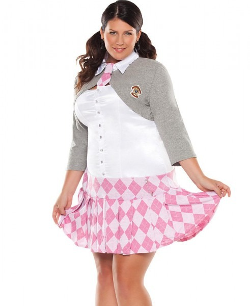 School Girl Costumes Plus Size & Image Is Loading Sexy