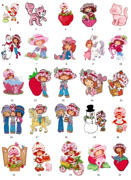 My Sister And I Had Lots Of Strawberry Shortcake Friends As