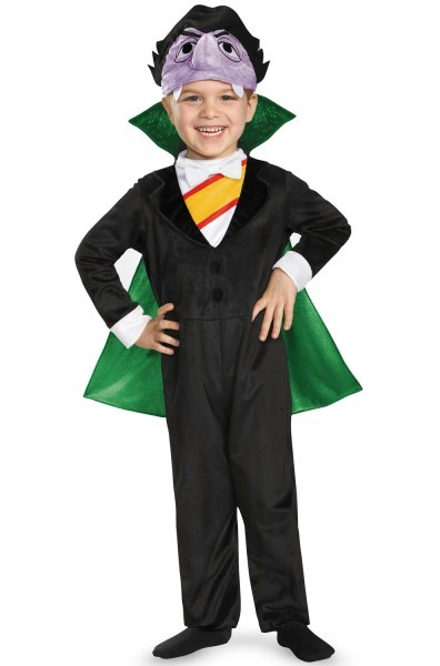 Count Deluxe Infant Toddler Costume