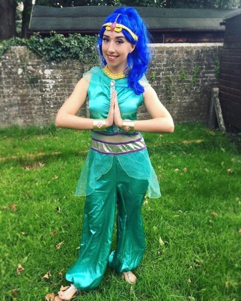 Diy Shimmer & Shine Costume