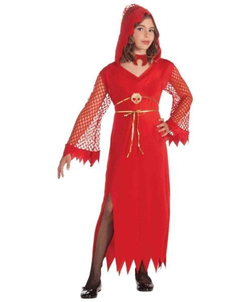 Economy Devilish Diva Kids Costume