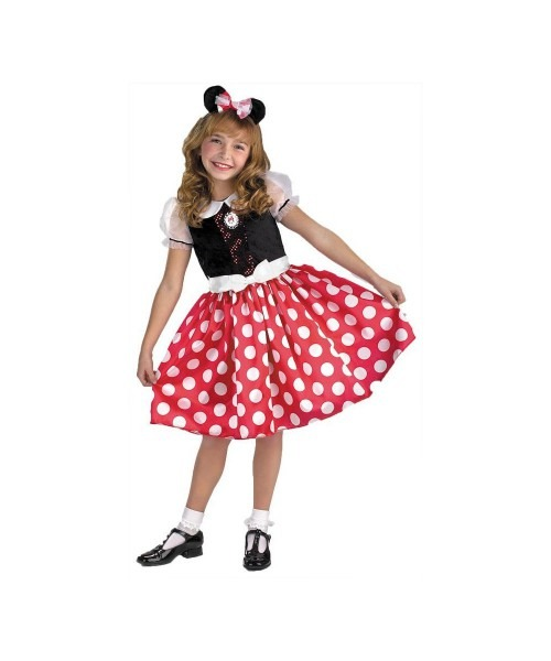 Minnie Mouse Disney Kids Costume
