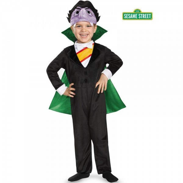 Sesame Street The Count Deluxe Toddler Costume