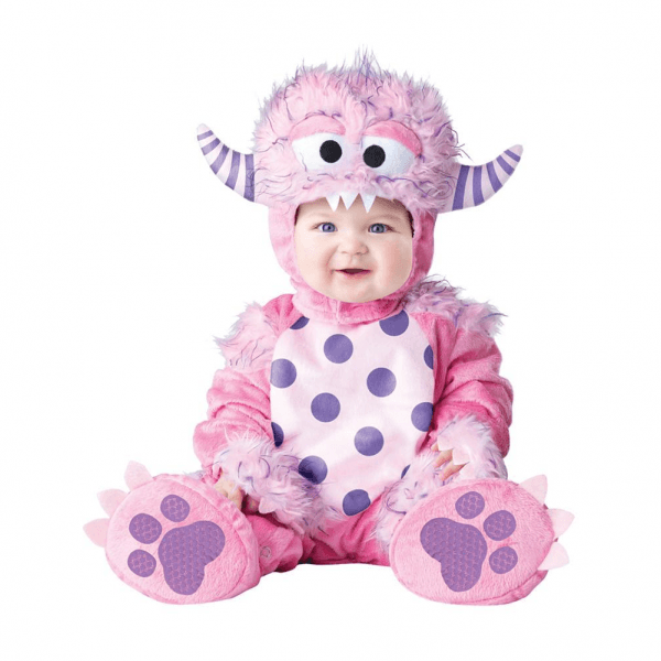 Little Pink Monster Baby Costume
