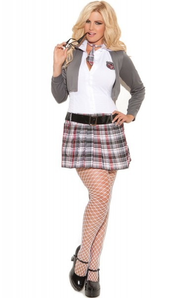 Detention Queen Schoolgirl Costume