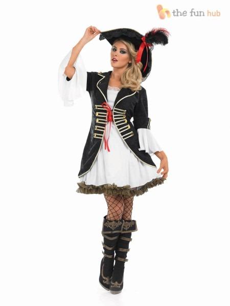 Womens Deluxe Pirate Costume & Womenu0027s Deluxe Pirate Costume