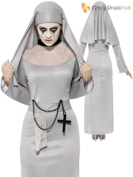 MOTHER SUPERIOR FANCY DRESS COSTUME LADIES