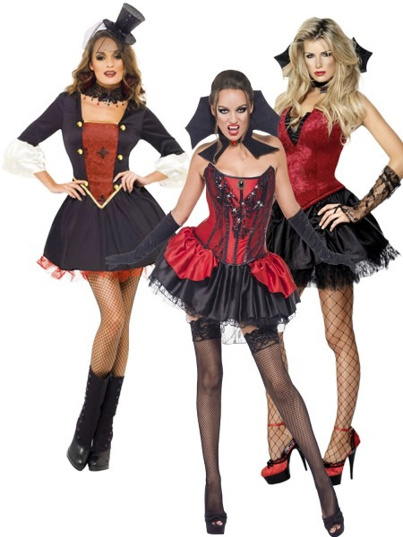 Female Vampires Costumes & Girls Victorian V&ire Costume Sc 1 St