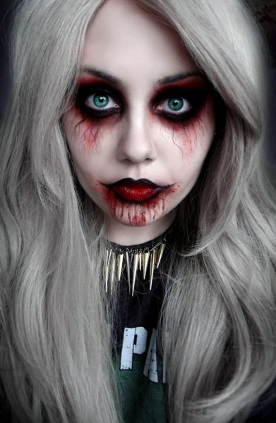 55 Scary Halloween Makeup Ideas That Look Too Real!