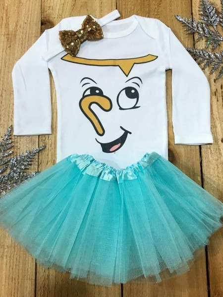 Beauty And The Beast Onesie Chip Baby Costume Chip Costume