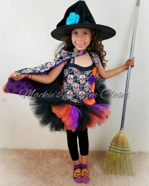 Catrina Dia De Los Muertos Day Of The Dead Sugar Skull Witch