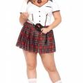 Plus Size Schoolgirl Costume