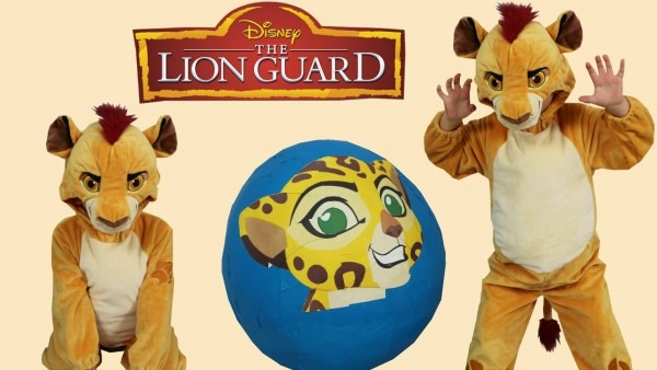 Disney The Lion Guard Super Giant Toys Surprise Egg Opening Toys