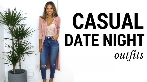 Casual Date Night Outfits + Lookbook