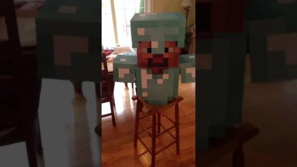 Minecraft Diamond Armor Costume