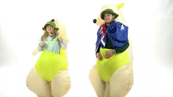 Bodysocks Adult Inflatable Kangaroo Costume
