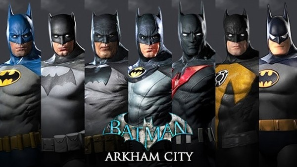 Batman  Arkham City All Suits And Skins (gameplay Showcase)