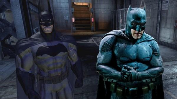 Batman Arkham Asylum  Batman V Superman Suit Mod
