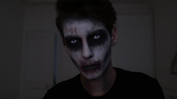 Super Easy Halloween Makeup For Men