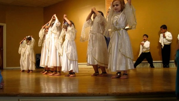 Little Children's Arabic Dance, Evening Performance